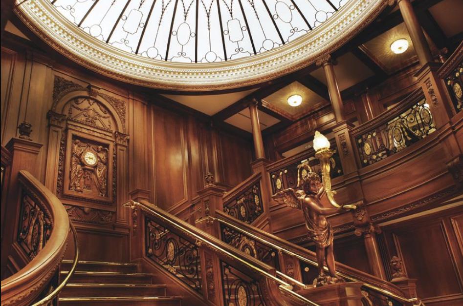 Titanic escalera
