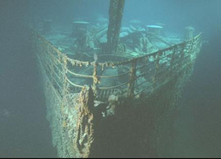 Titanic fondo marino