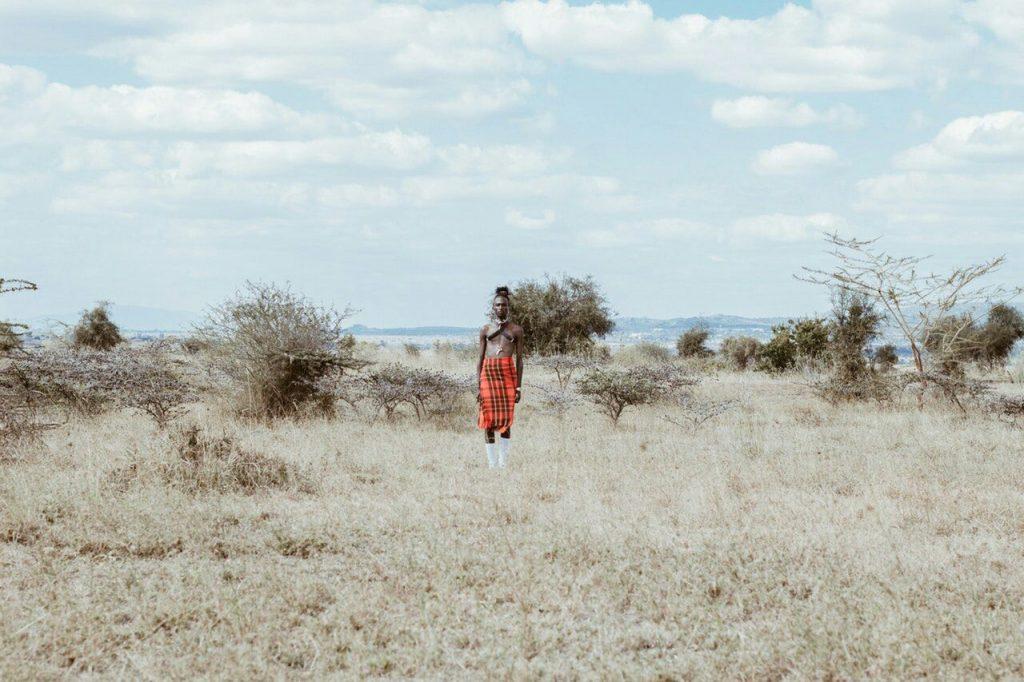 etiopia man water