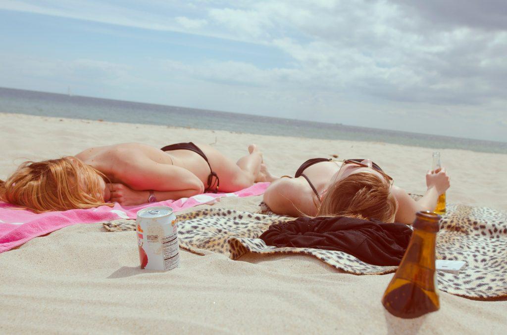 sun light beach