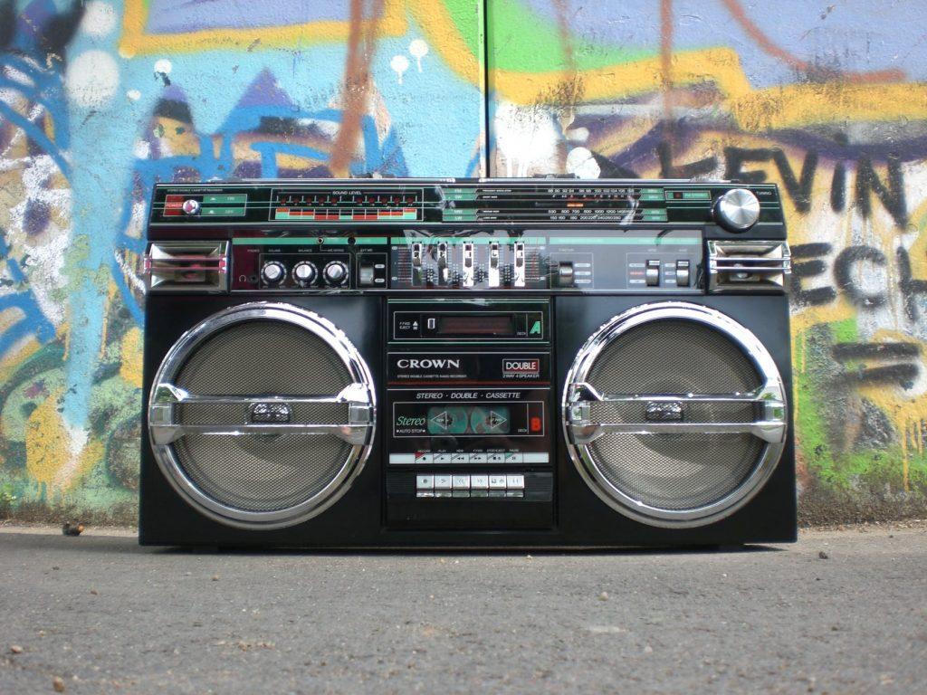 music retro vintage