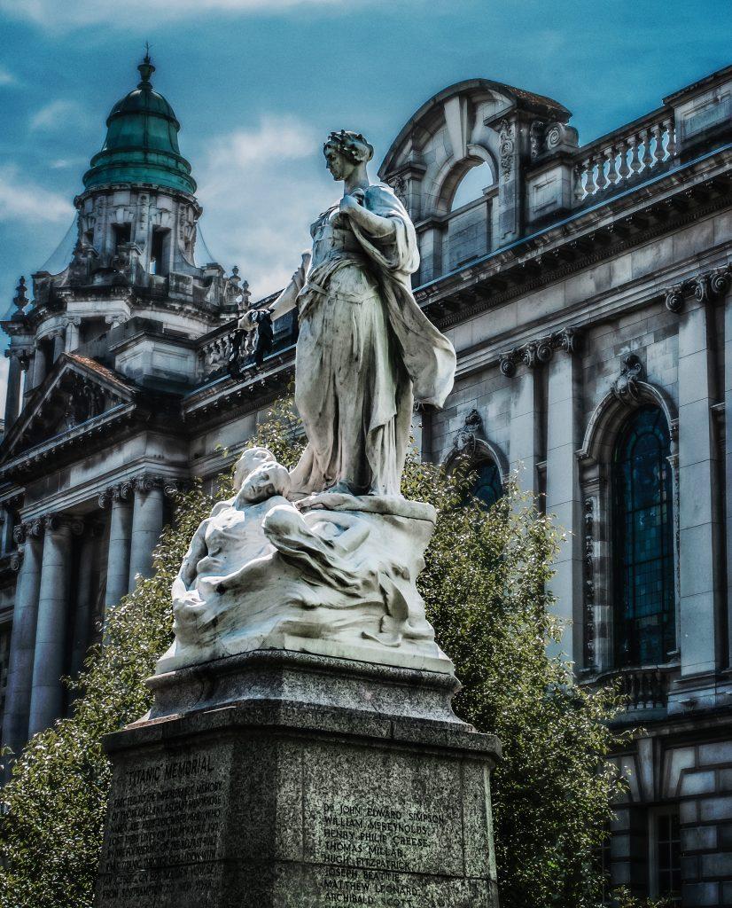 Titanic At Memorial Belfast Hall