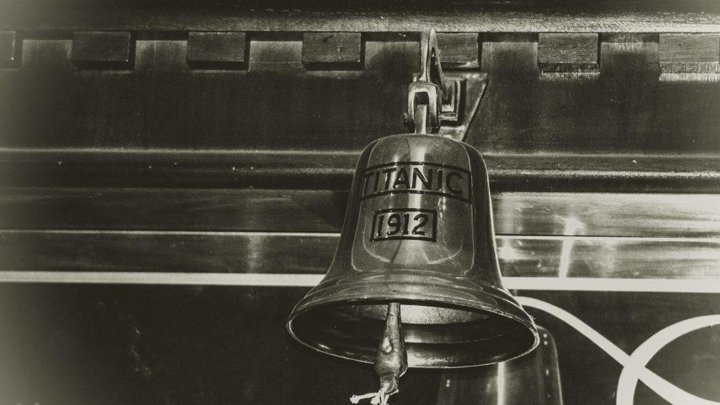 titanic bell 1912