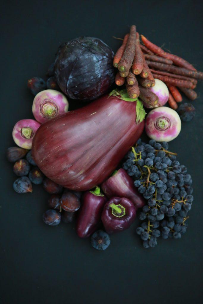 vegetable purple