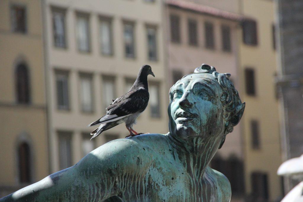 scared afraid frighten statue